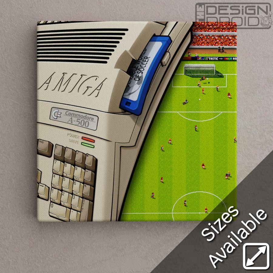 Amiga A500 SensiSWOS - Red Team